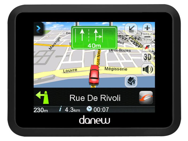 telecharger carte europe gps danew