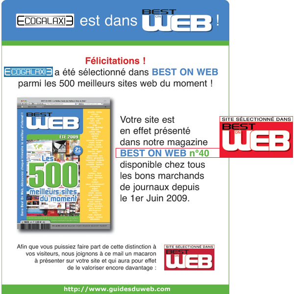 BEST ON WEB N°40